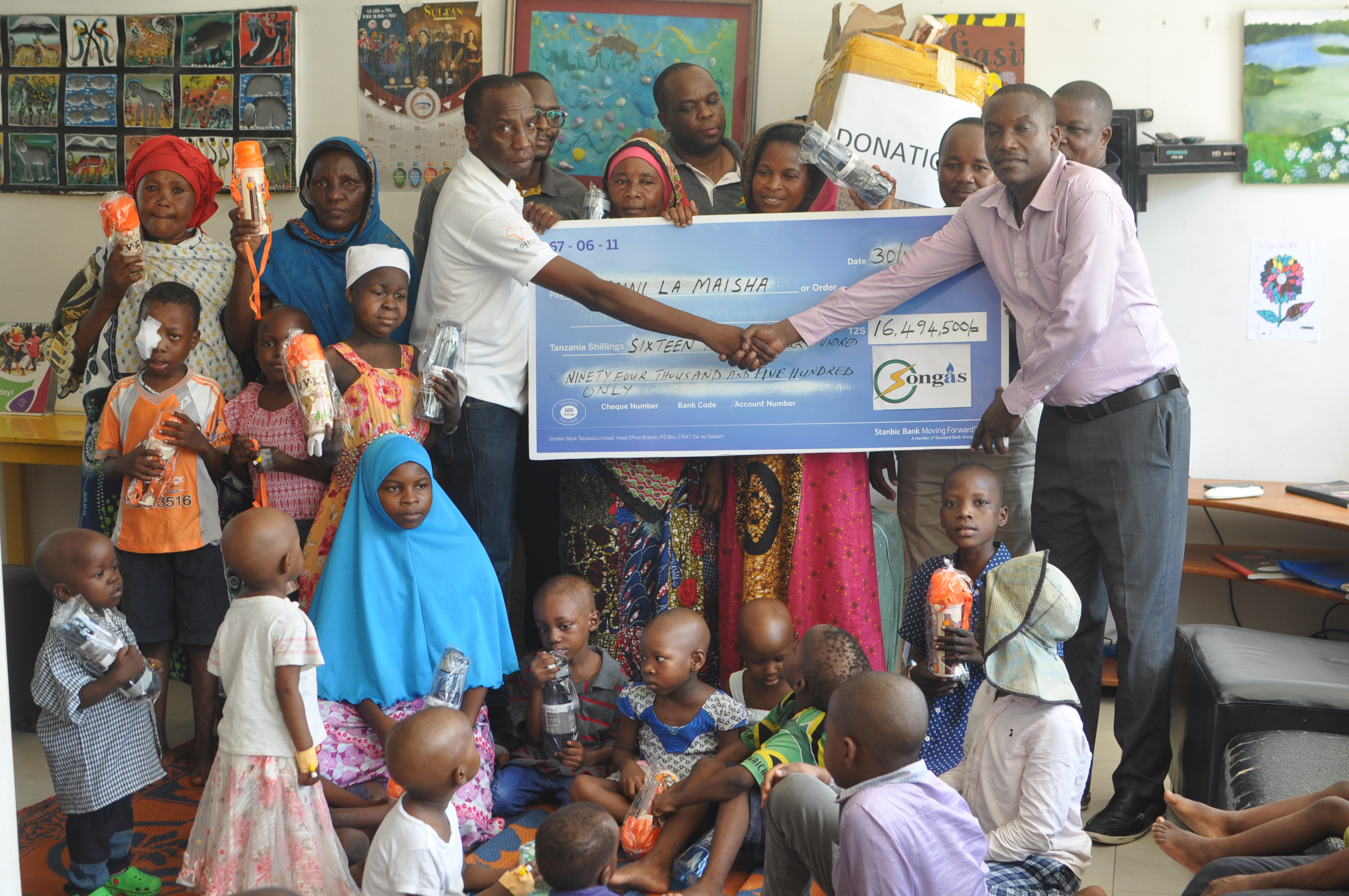 Songas invests over TZS63 million on two community projects in Dar